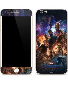 Avengers Endgame Ready for Action iPhone 6/6s Plus Skin