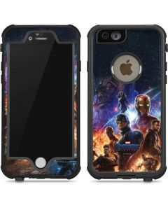 Avengers Endgame Ready for Action iPhone 6/6s Waterproof Case