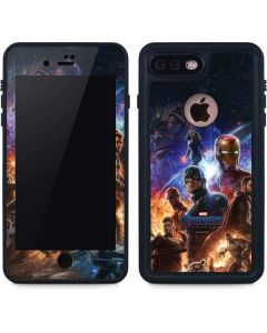 Avengers Endgame Ready for Action iPhone 8 Plus Waterproof Case