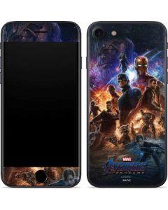Avengers Endgame Ready for Action iPhone 8 Skin