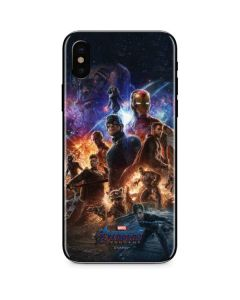 Avengers Endgame Ready for Action iPhone X Skin