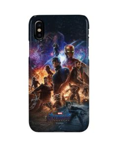 Avengers Endgame Ready for Action iPhone XS Max Lite Case