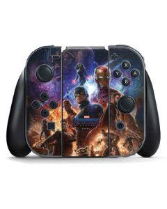 Avengers Endgame Ready for Action Nintendo Switch Joy Con Controller Skin