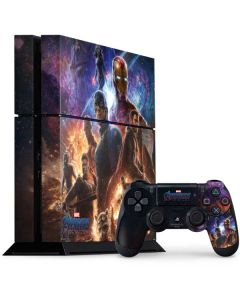 Avengers Endgame Ready for Action PS4 Console and Controller Bundle Skin