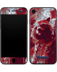 Avengers Endgame Rocket Raccoon iPhone 8 Skin