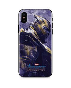 Avengers Endgame Thanos iPhone X Skin