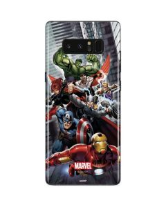 Avengers Team Power Up Galaxy Note 8 Skin