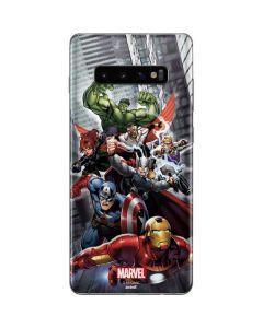 Avengers Team Power Up Galaxy S10 Plus Skin