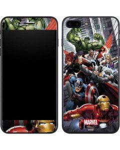 Avengers Team Power Up iPhone 7 Plus Skin