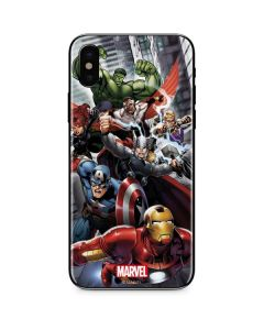 Avengers Team Power Up iPhone XS Max Skin