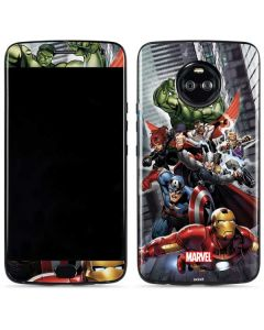 Avengers Team Power Up Moto X4 Skin