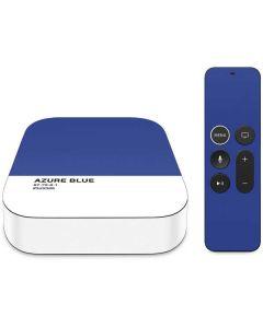 Azure Blue Apple TV Skin
