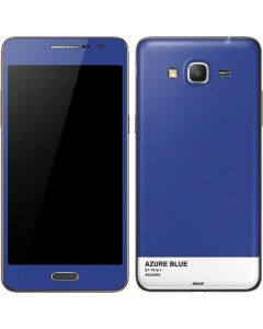 Azure Blue Galaxy Grand Prime Skin