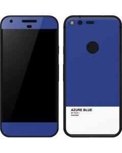 Azure Blue Google Pixel Skin