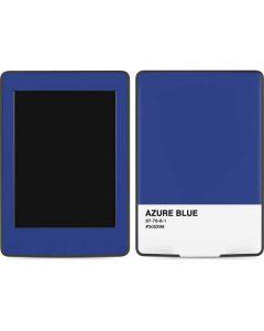 Azure Blue Amazon Kindle Skin