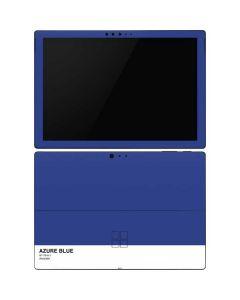 Azure Blue Surface Pro 6 Skin
