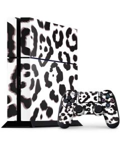 B&W Leopard PS4 Console and Controller Bundle Skin