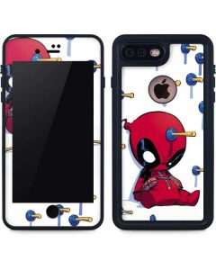 Baby Deadpool iPhone 7 Plus Waterproof Case
