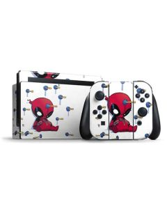 Baby Deadpool Nintendo Switch Bundle Skin