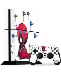 Baby Deadpool PS4 Console and Controller Bundle Skin