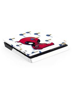 Baby Deadpool PS4 Slim Skin