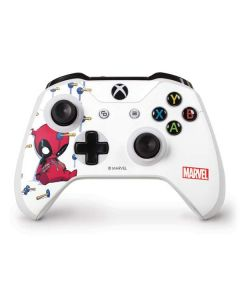 Baby Deadpool Xbox One S Controller Skin