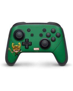 Baby Loki Nintendo Switch Pro Controller Skin