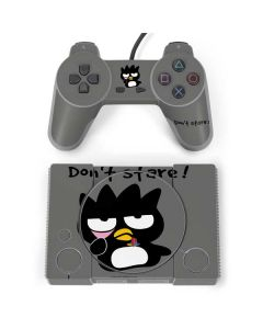 Badtz Maru Dont Stare PlayStation Classic Bundle Skin