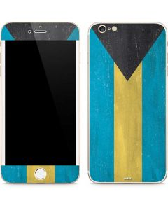 Bahamas Flag Distressed iPhone 6/6s Plus Skin