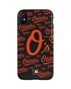 Baltimore Orioles - Cap Logo Blast iPhone XS Pro Case