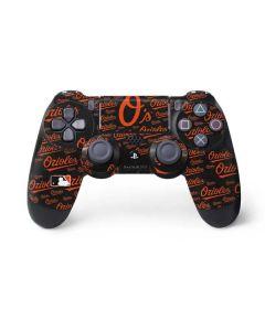 Baltimore Orioles - Cap Logo Blast PS4 Controller Skin