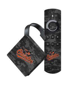 Baltimore Orioles Digi Camo Amazon Fire TV Skin