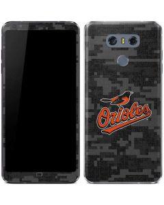 Baltimore Orioles Digi Camo LG G6 Skin