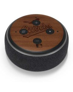 Baltimore Orioles Engraved Amazon Echo Dot Skin