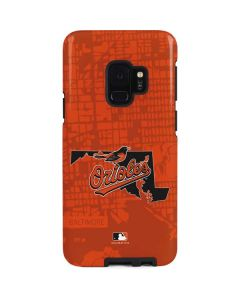 Baltimore Orioles Home Turf Galaxy S9 Pro Case