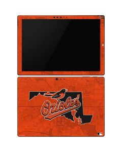 Baltimore Orioles Home Turf Surface Pro 6 Skin