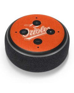 Baltimore Orioles Monotone Amazon Echo Dot Skin