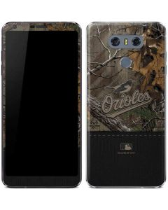 Baltimore Orioles Realtree Xtra Camo LG G6 Skin