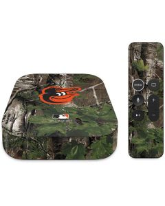 Baltimore Orioles Realtree Xtra Green Camo Apple TV Skin