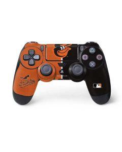 Baltimore Orioles Split PS4 Controller Skin