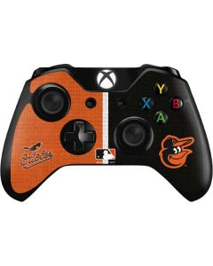 Baltimore Orioles Split Xbox One Controller Skin
