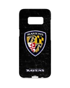 Baltimore Ravens - Alternate Distressed Galaxy S8 Plus Lite Case