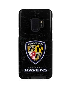 Baltimore Ravens - Alternate Distressed Galaxy S9 Pro Case