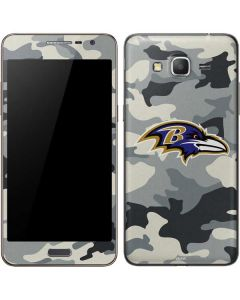 Baltimore Ravens Camo Galaxy Grand Prime Skin