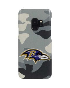 Baltimore Ravens Camo Galaxy S9 Lite Case