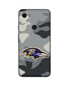 Baltimore Ravens Camo Google Pixel 3a Skin