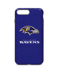Baltimore Ravens Distressed iPhone 7 Plus Pro Case