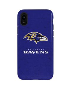 Baltimore Ravens Distressed iPhone XR Pro Case