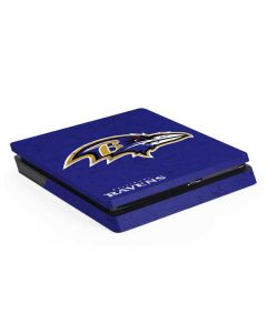 Baltimore Ravens Distressed PS4 Slim Skin