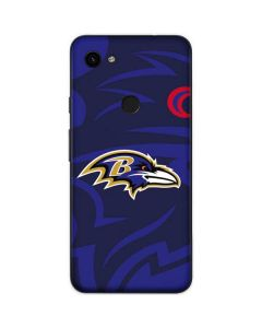 Baltimore Ravens Double Vision Google Pixel 3a Skin